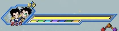 極限Zエリア「3人のサイヤ人」ステージ2のボス