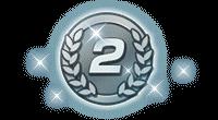 ミッションメダル銀