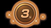 ミッションメダル銅