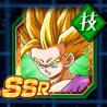 解放された怒り-超サイヤ人2孫悟飯(少年期)