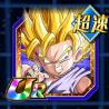 技と力の応酬-超サイヤ人2孫悟空(GT)