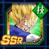 全力を尽くした戦闘-超サイヤ人ベジータ