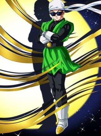 『愛と正義のヒーロー』グレートサイヤマンのカード絵(立ち絵)