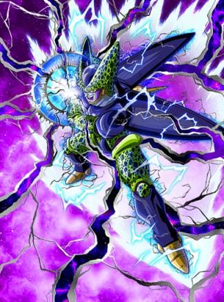 『滅びの閃光』パーフェクトセルのカード絵(立ち絵)