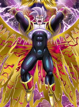 『復讐の成就』スーパーベビー2のカード絵(立ち絵)