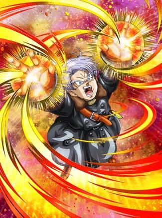 『異世界での激闘』トランクス(ゼノ)のカード絵(立ち絵)