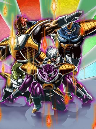 『最強の精鋭部隊参上』ギニュー(特戦隊)