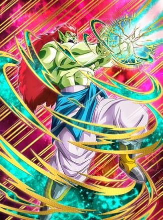 『超エネルギーの戦慄』フルパワーボージャックのカード絵(立ち絵)