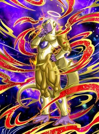 『甦る帝王』ゴールデンフリーザ(天使)のカード絵(立ち絵)