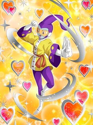 『夢と魔法で愛の一撃』ロージィのカード絵(立ち絵)