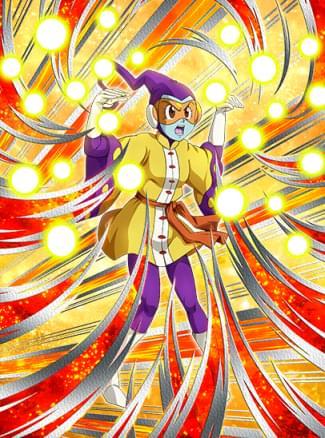 『極めし流派ヤッチャイナー拳』ロージィのカード絵(立ち絵)