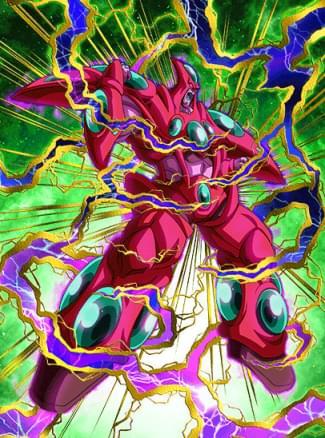 『絶滅計画の最終兵器』スーパーハッチヒャックのカード絵(立ち絵)