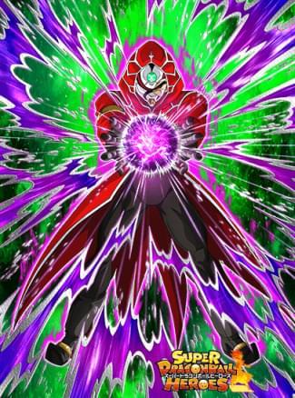 『暗黒に染まる戦士』暗黒仮面王のカード絵(立ち絵)