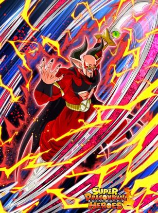 『再起をかけた魔王』魔神ダーブラ(ゼノ)のカード絵(立ち絵)