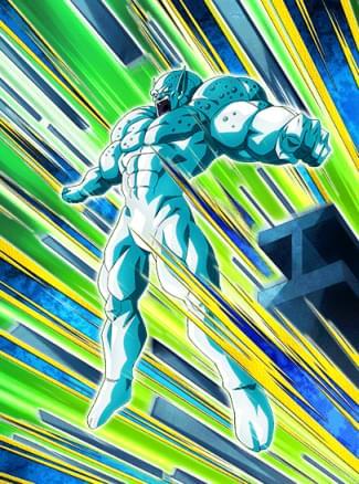 『全身金属の強敵』メタルリルドのカード絵(立ち絵)