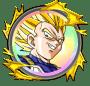 覚醒メダル「超戦士の証 [超サイヤ人ベジータ]」