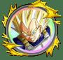 覚醒メダル「超戦士の証[超サイヤ人2ベジータ]」