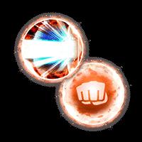 【カテゴリ専用】EXスキル玉 必殺技威力UP+Lv.1,ATK+Lv.1
