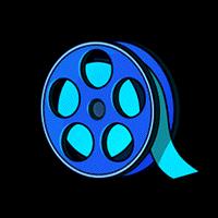 フィルム(青)