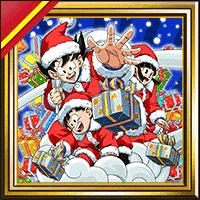 ドッカンバトル 壁紙「悟空一家のクリスマスプレゼント」