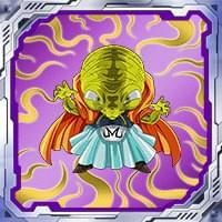 シールNo.129「極悪非道の魔導師」バビディ