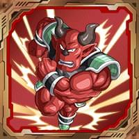 シールNo.148「強烈な猛襲」シサミ