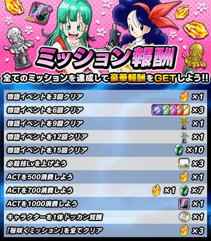 ドッカンバトル桜咲くミッション