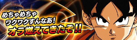 新イベント「熱闘悟空伝」